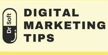 Digital Marketing Tips - DrSoft / A library of insightful information on #DigitalMarketing strategy. Where to start, how to increase your traffic, how to do keyword research, what platforms to use, and more.