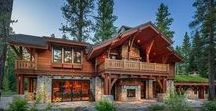 Luxury mountain homes