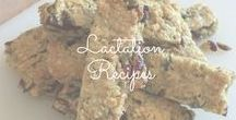Lactation Recipes / Tasty food with added benefits. Lactation recipes help boost milk supply for lactating and breastfeeding moms. Galactagogues are key ingredients.