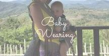 Baby Wearing / Ergo, Baby Bjorn, Moby, Boba, Sling? Oh my! I am passionate about baby wearing and I love all of the options that exist to wear or carry your baby or child. I also love to breastfeed my son in the carrier.