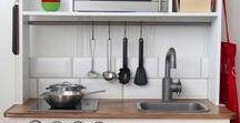 Ikea Duktig Play Kitchen Inspiration / Ideas and inspiration for the Ikea Duktig Play Kitchen