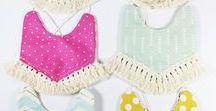 Bibs & Burp Cloths / Bibs & Burp Cloths... 'cause they're useful and cute