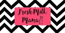 From Fresh Milk Mama / The best content from Fresh Milk Mama's site - breastfeeding tips and advice to overcome breastfeeding challenges. Breast pumping tips. Postpartum weight loss and clean, healthy eating. Baby and child sleep challenges. Breastfeeding advocate.