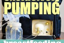 Exclusively Pumping / All about Exclusive Pumping - expressing breast milk with a breast pump instead of breastfeeding directly.