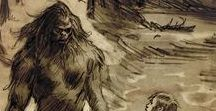 Criptozoologia / Creature criptozoologiche, animali preistorici sopravvissuti, nuove specie da scoprire, oppure esseri di fantasia.