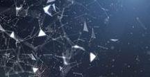 Universi geometrici / Universi incredibili e immaginari, forme geometriche impossibili e micro mondi composti da atomi e molecole.
