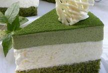 Matcha Cakes & Treats