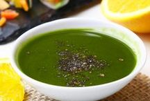 Dipping in Matcha