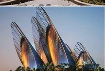 Futuristic constructions