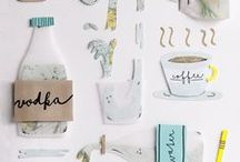 Kitchen's stories / Food & visual design  Styled recipes for yummy banquets