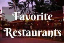 Favourite Restaurants / I travel to eat around the world!!!