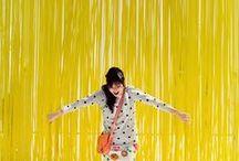 Yellow (JAUNE) / «Certains peintres transforment le soleil en un point jaune ; d'autres transforment un point jaune en soleil.» - Pablo Picasso  / by Amylee Paris - Artist