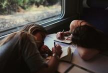 Train travel / A trip can be as terrible, in my memory turns into something wonderful. [Banana Yoshimoto, Un viaggio chiamato vita]