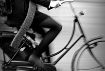 """Life is like riding a bicycle / """"Life is like riding a bicycle. To keep your balance you must keep moving"""" [Albert Einstein]"""