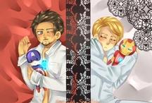 Avengers love / WAY too fannish...  it's sad.