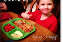 For My Little Guys (and big Guy) / Foods that are big and little (but growing!) boy approved.