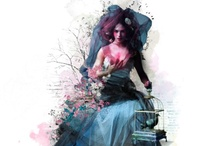 Polyvore Dolls / by Marie Paul