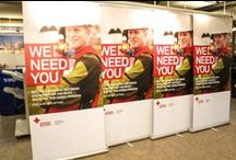 Pop Up Banners / Large format retractable banners