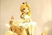 Alice in Wonderland / Le più belle torte dedicate al fantastico mondo di Alice nel Paese delle Meraviglie.