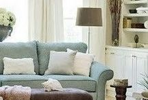 Living Room Ideas / by Pumpkins and Roses