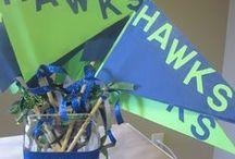 Go Hawks! / Football season parties  / by Jenae Mertl