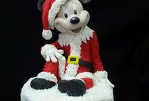 Topper e dolci natalizi decorati / Dolci natalizi decorati