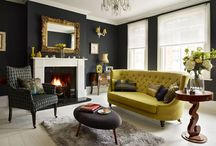 One colour accents / How introducing one colour can transform a room decor