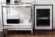 Chanel inspired interiors / Chanel for the home