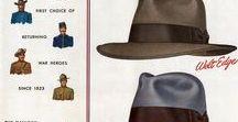Männer Hüte / Formen und Variationen von Hüten. Immer der passende Hut für den richtigen Anlass