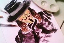 My Artwork / Lets enjoy the artworks of artist wanna be :)