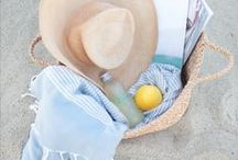 Summer   Beach Essentials / Hitting the beach this summer? From sunglasses to towels, discover our beach essentials!