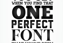 Font findings:) / by Kathy Clay