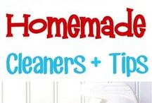 *~* Homemade House Cleaners & Cleaning Tips *~*