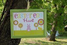 Eggstravaganza / For the egg hunt at our home and the church / by Jen Volkmer