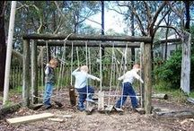 ECE learning environments - indoor and outdoor / Great indoor and outdoor environments for children to learn/play in. / by Alec @ Child's Play Music