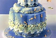 Cakes  -- blue