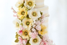 cakes with multi-flowers