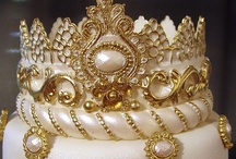 cakes with bling or jewelry
