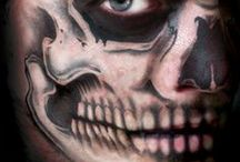 Halloween Mask, and Costumes / Welcome to the Gone Blue.com Halloween Store. Below are links to Halloween merchandise and Halloween costume accessories and fun Halloween stuff which glows in the dark. We have hair color and wigs for Halloween and Halloween tattoos and t-shirts too.