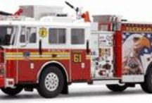 Code 3 Fire Trucks Engines, Pumpers, Ladders and More / Code 3 Collectible Fire Trucks are 1/64th Scale with Unbelievable Detailing. They are more than just a Toy Truck. Firefighters and emergency personnel are the everyday heroes in America. They put their lives on the line in order to keep us safe. Code 3 Collectibles preserves the honor and history of all these heroes.