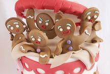 Cakes --- Christmas