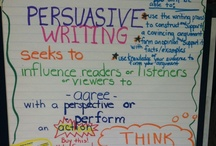 persuasive writing  / by Mary Elizabeth
