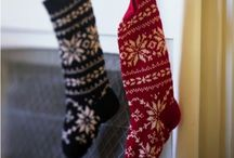 Baby it's cold outside...Stockings / by Meagan Valentine
