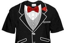 Tuxedo T-Shirts :: Tuxedo Shirts for Men, Girls, and Kids / Tuxedo T-Shirts. Buy Tuxedo Shirts for Men Girls and Kids. Tuxedo T-Shirts for Weddings, Groomsmen or Prom. What a great idea! Get a tuxedo shirt for all your groomsman in your party. Wear a Tuxedo t-shirt to the prom or just get a tux shirt for yourself. Either way tuxedo tees are always fun and a great way to celebrate.
