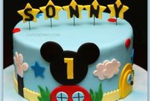 First Birthday Party (Mickey Mouse Clubhouse) / It's a Mickey Mouse Party! Help me out... add some pins, comment on what you like and don't like. Especially invites! Having a hard time choosing... / by Kayleigh Galletto
