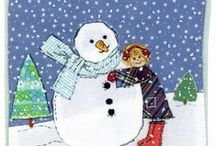 Snowmen / by New England Quilter