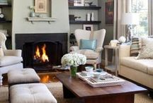 Dream a Little Dream Home: Living Room / Living rooms / by Kayleigh Galletto
