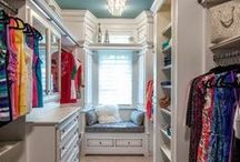 Dream a Little Dream Home: Closets / Closets = <3 / by Kayleigh Galletto