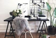 CREATIVE SPACES- HOME OFFICE AND STUDIO SPACE DECOR / Best ideas for getting most out of your home office!