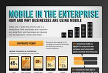 FOCUS on Mobile / Collection of infographics that focus on mobile / by Rika Ng